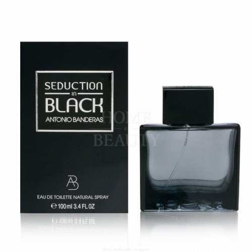 ANTONIO BANDERAS SEDUCTION IN BLACK FOR MEN 100 мл