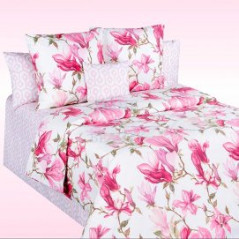 COTTON DREAMS КПБ Mon Amour ДУЭТ 220*240,215*150*2,70*70*2