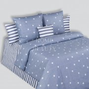 COTTON DREAMS КПБ Stars 1,5 сп (215*160, 215*150, 2*70*70)