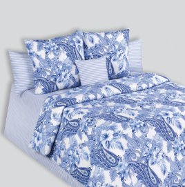 КПБ COTTON DREAMS Novella Евро 1 (220*240,200*220,2*70*70)