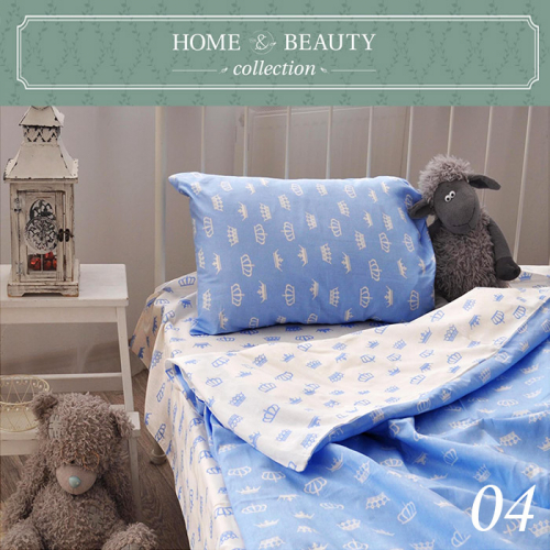 HOME&BEAUTY КПБ 1,5сп № 04 150х215см, 215х145см, 50х70 см, бязь    2400000001348