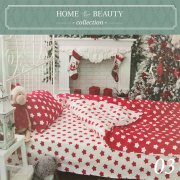 КПБ HOME&BEAUTY 1,5сп № 03 150х215см, 215х145см, 50х70 см, бязь