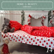 КПБ HOME&BEAUTY 1,5сп № 14 150х215см, 215х145см, 50х70 см, бязь
