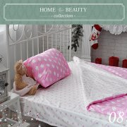 КПБ HOME&BEAUTY 1,5сп № 08 150х215см, 215х145см, 50х70 см, бязь