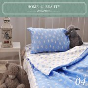 КПБ HOME&BEAUTY 1,5сп № 04 150х215см, 215х145см, 50х70 см, бязь