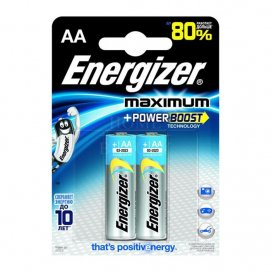 Energizer Батарейка ENR Maximum LR6 FSB2 AA, 1 бл
