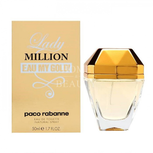 PACO RABANNE LADY MILLION Eau My GOLD EDT SPRAY 50ML