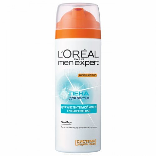 L'OREAL Paris Men Expert ГИДРА СЭНСИТИВ Пена для бритья, 200 мл