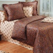 КПБ COTTON DREAMS Elite Gold Евро (240х260,220*200,70*70*2)
